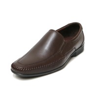 Sepatu Kulit Asli Pria | Edison - Coffee, Sepatu Kulit Moccasin