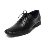 Sepatu Kulit Asli Pria | Erick Shoes - Black, Sepatu Kulit Moccasin