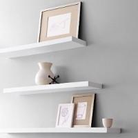 Perabotan Rumah Tangga Floating Shelves 3 buah pilihan warna Promo