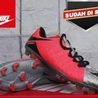 sepatu bola Nike hypervenom new kw super merah