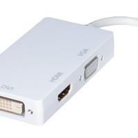 Mini DisplayPort to HDMI, DVI & VGA Adapter