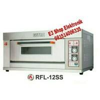 GETRA RFL-12SS GAS OVEN 1 DECK 2 TRAY GARANSI RESMI MURAH
