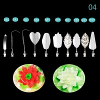 Jelly Pudding Art Decor Cake Tools Import High Quality tipe H