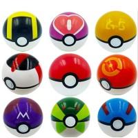 Pokeball 1 Pack Isi 9 Pokemon Figure One PIece Figma Transformers