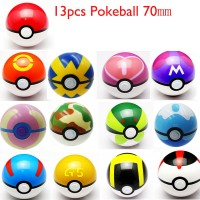 Pokeball 1 Pack Isi 13 Pokemon Figure One PIece Figma Thousand Sunny