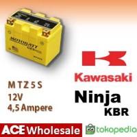 Aki Ninja KBR Kawasaki MOTOBATT MTZ5S|kering motor u/ GS GTZ5S
