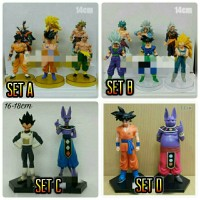 Mainan Anak Figure Set Dragon Ball Dragonball Z
