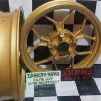 velg pnp yamaha r15 lebar merk v rossy triple disc
