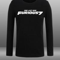 Kaos Long Sleeve Fast And Furious
