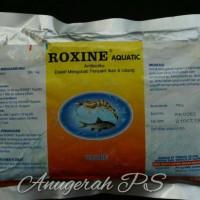 Enro Obat Antibiotik Ikan Roxine Enrofloxacin 20%