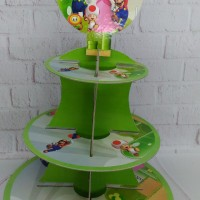 cupcake stand mario bros / cupcake tier mario bros