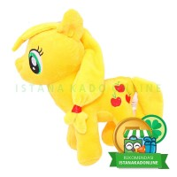 Boneka My Little Pony Kuda Poni Applejack 10 inch Kuning [TC]