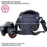 CAMERA BAG X21T - ZAMRUD 101 FOR DSLR CANON, NIKON, SONY, PANASONIC
