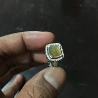 Video Natural Batu Akik Kristal Solid Opal Kalimaya Teh Octagon