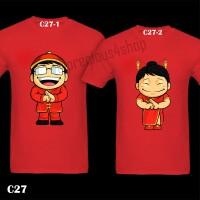 Baju Imlek Chinese New Year CNY | C27 | Kaos Couple | Family T-Shirt