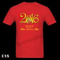 Year 2016 Baju Imlek Chinese New Year | C18 | Kaos Couple | T-Shirt
