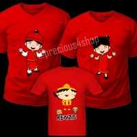 Baju Imlek Chinese New Year CNY | C24 | Kaos Couple | Family T-Shirt