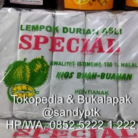 Lempok / Dodol Durian Khas Pontianak (Kemasan Kecil)