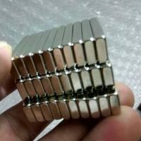 Magnet Batang Bar Neodymium Silver Super Kuat 30x10x4mm N52