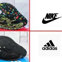 sepatu casual/santai/murah/Adidas Samba Full Black