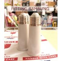 FITTING SAMBUNGAN EXTENSION / PERPANJANGAN UNTUK LAMPU (MODEL PANJANG)