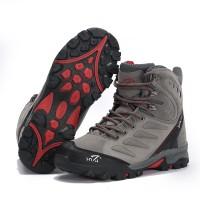 Sepatu Gunung Snta 477 GREY RED Trekking/Hiking/Adventure/Outdoor
