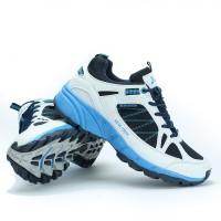 Sepatu Running Outdoor KETA 190 White Navy - Sepatu Lari & Olahraga