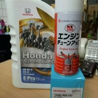 Paket ganti oli epro blue dan tune up mobil honda type 2