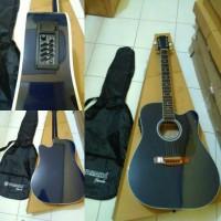 gitar akustik elektrik yamaha TBS bonus tas