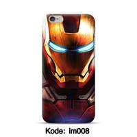 Hardcase 3D ironman untuk iphone 6/6s