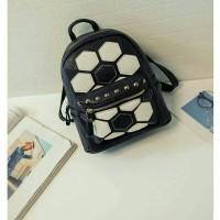 ransel motiv bola / tas wanita murah / backpack
