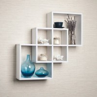 Rak Dinding Minimalis [Ketupat] - Floating Shelves