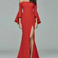 Long Dress Scuba Premium - XS