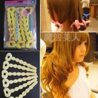 BENDY ROLLER HAIR CLIP CURLY RAMBUT SHORT LONG PENGIKAL PENGERITING