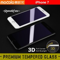iPhone 7 - MOCOLO ANTI UV 3D FULL COVER Screen Guard Tempered Glass