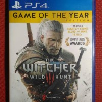 kaset game bd ps4 ps 4 the witcher 3 game of the year edition goty