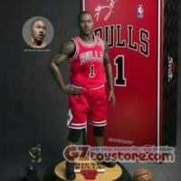 Enterbay - NBA Collection: Derrick Rose 1/6 Scale Figure