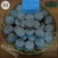 Sabun Natural Herbal Kefir Etawa Organik Charcoal - Size M