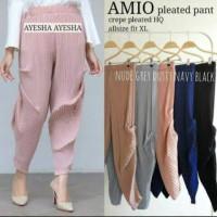 plisket pants/celana cubit