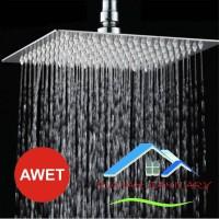 Wall Shower - Shower Mandi - Shower tanam stainless 8 inch