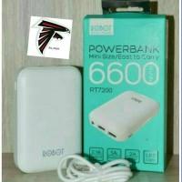 Power Bank Robot RT 7200 6600mAh Original / PB 6600 mAh ORI vivam
