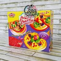Fun Doh Pizza Party - Lilin Mainan Anak FunDoh / PlayDoh / Play Doh