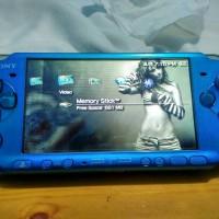PSP Slim 3000 blue