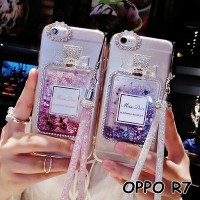FOR OPPO R7 - luxury perfume bottle Quicksand GLITTER SOFT CASE