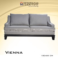 Sofa Vintage Empuk 2 Seater High Quality Vienna Couch