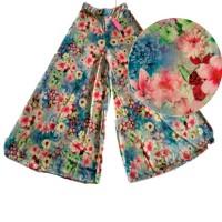 kulot panjang all size - kulot motif terbaru - fashion Muslim