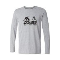Kaos Lengan Panjang Zombies High Quality