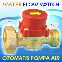 "Otomat Pompa Air 1"" - 3/4"" Kuningan Water Flow Switch Saklar Otomatis"