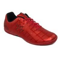 Sepatu Futsal Kelme Star 9 Red Black Original