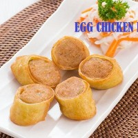 Egg Chicken Roll / Naget Bento / Frozen Food / Bento roll
